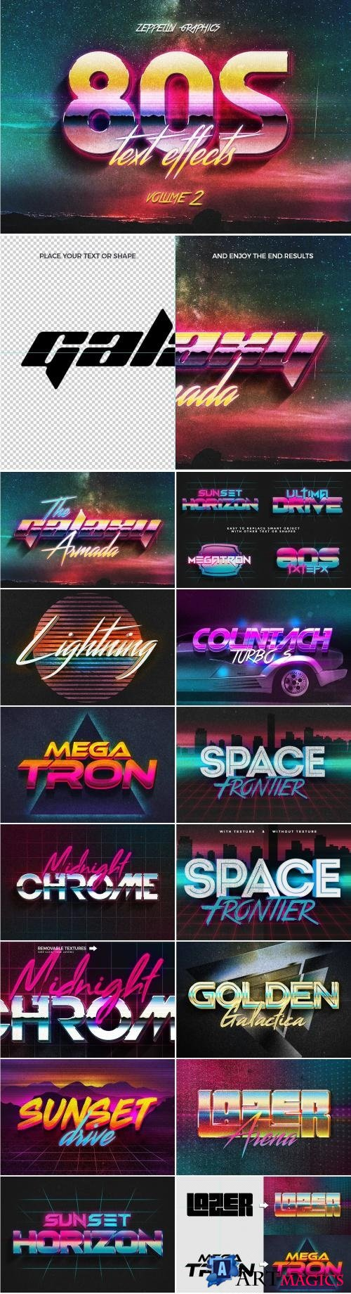 80s Text Effects Vol.2 - 2199793