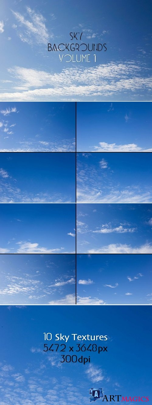 Sky Backgrounds Vol. 1 - 1800155