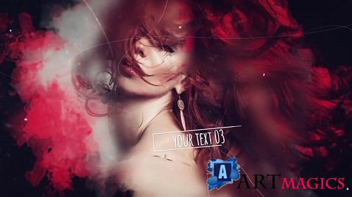 Ink Parallax Slideshow V2 54108 - After Effects Templates