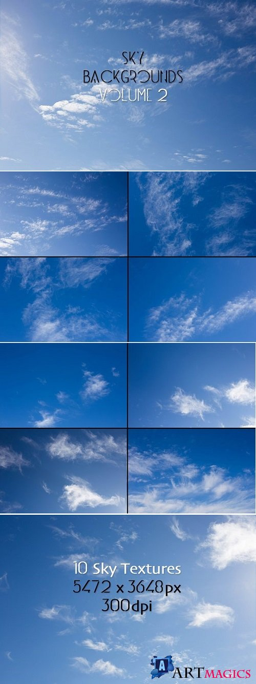 Sky Backgrounds Vol. 2 - 1800156
