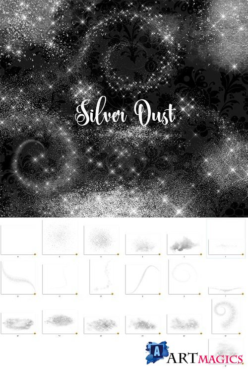 Silver Dust Overlays - 2122417