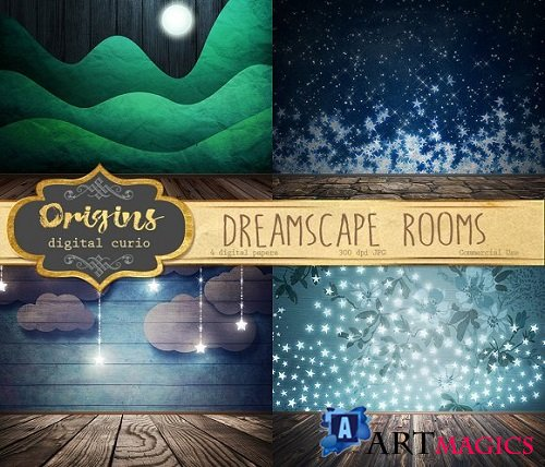Dreamscape Room Backdrops - 1018367
