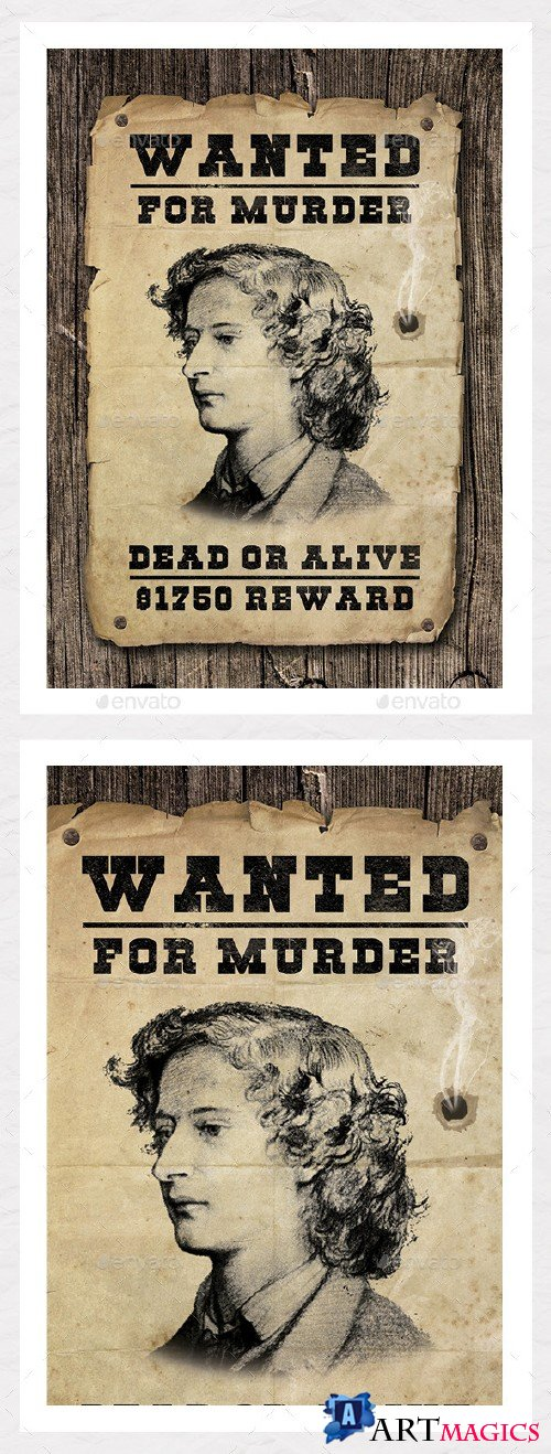 Wanted Poster Graphic - Create Your Own 8922750