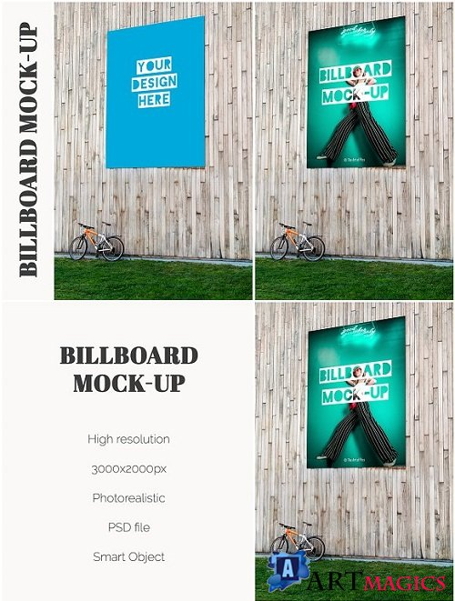 Huge Billboard Mock-up 2256276