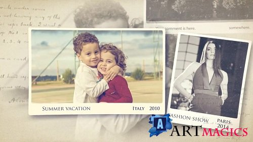 Memories Slideshow 65809 - After Effects Templates