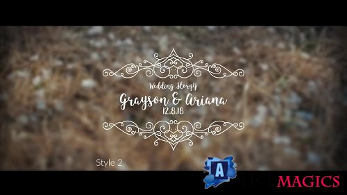 15 wedding Titles (3 Styles) 59423 - After Effects Templates