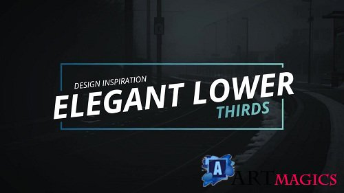 Elegant Lower Thirds 59555 - After Effects Templates