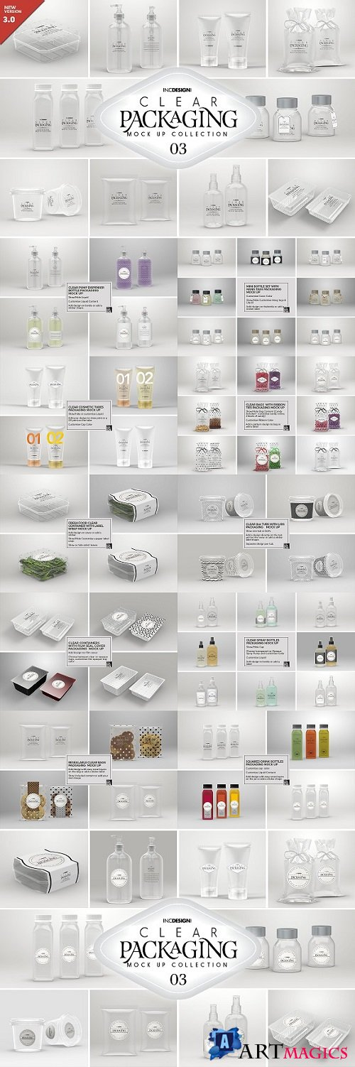 03 Clear Container Packaging MockUps - 2008712