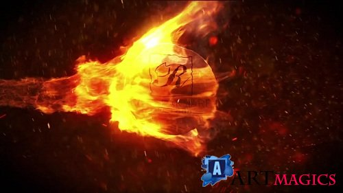 Fire Logo 61404 - After Effects Templates
