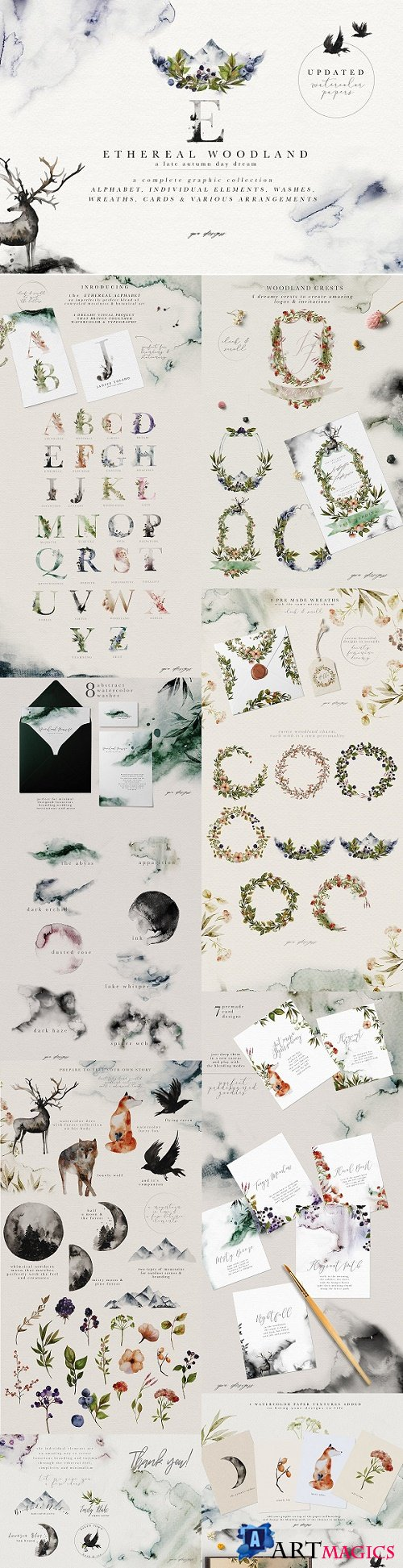 Ethereal Woodland - Graphic Set 1788677