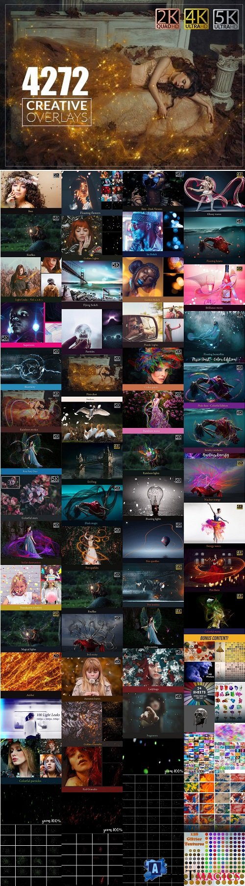 InkyDeals - 4000+ Spectacular Overlays Collection