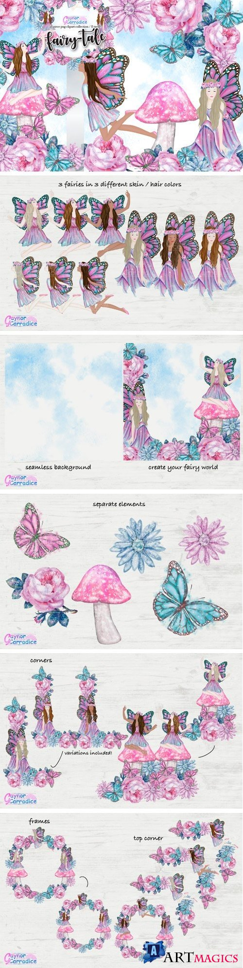 Fairy-tale Clipart Collection - 2337494