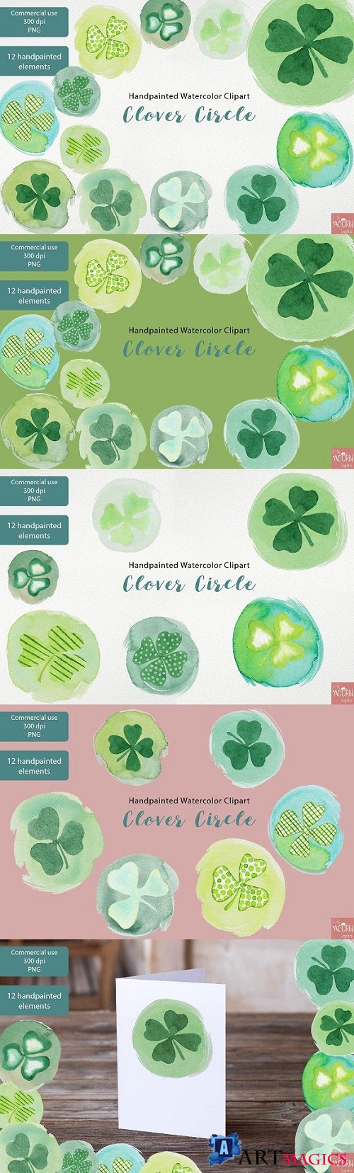Watercolor Clipart St Patricks Day - 2321627