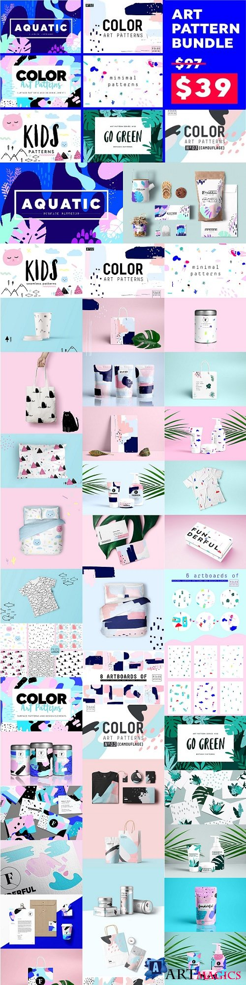 Art Pattern Bundle 2079108