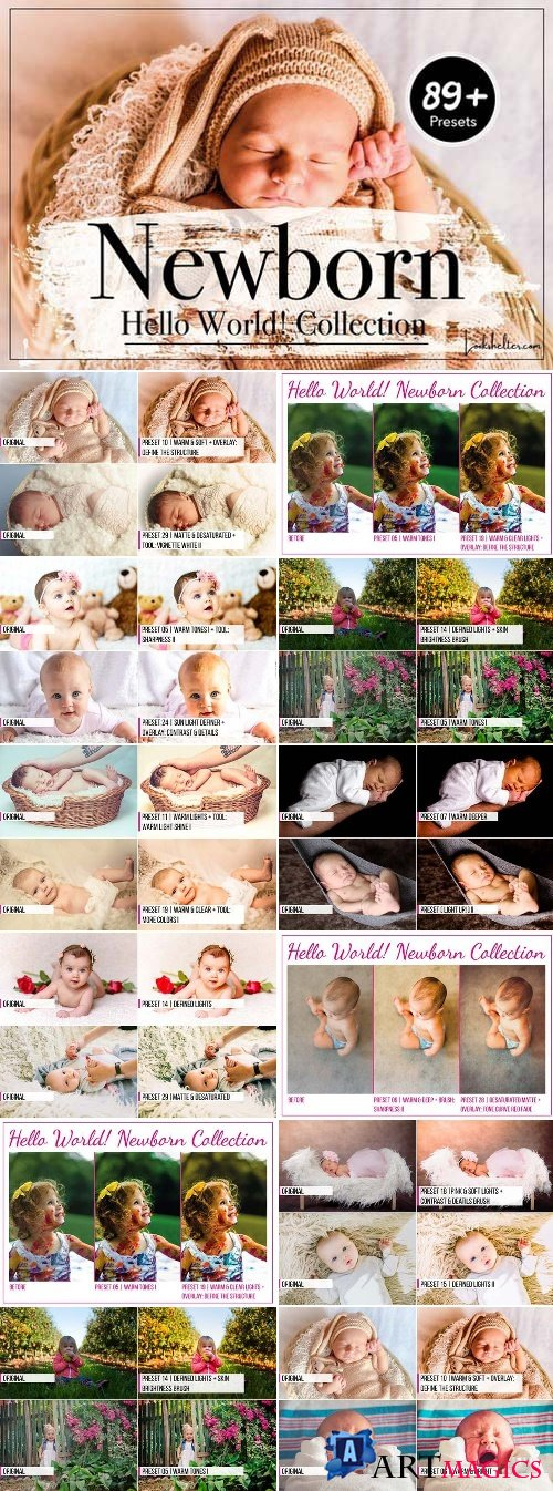 Newborn Lightroom Presets 2429719