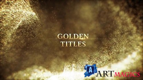 Golden Titles 65855 - After Effects Templates