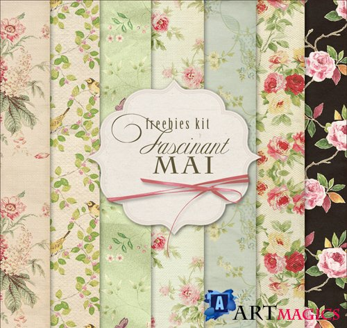 Flower Background Textures - Fascinant Mai