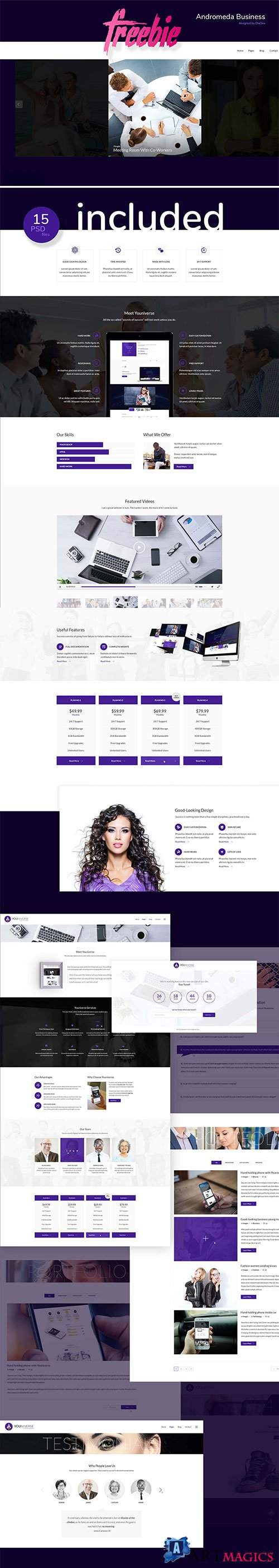 Andromeda Business Template