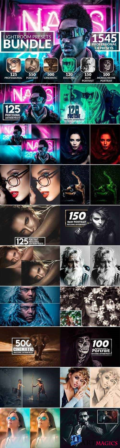PRO Lightroom Presets Bundle 2544334
