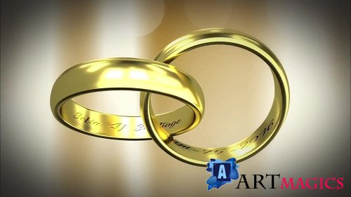 Gold Rings 87329 - After Effects Templates