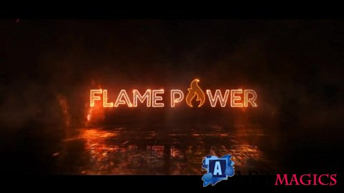 Fire Logo Reveal 88639 - After Effects Templates