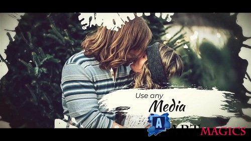 Ink Brush Slideshow 89197 - After Effects Templates