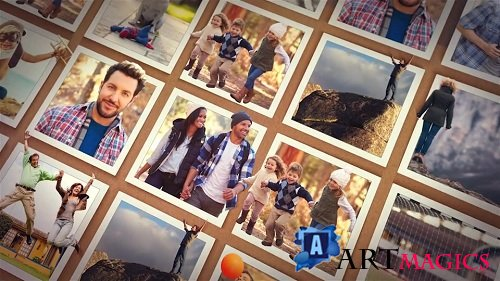 Out of the Frame - Photo Slideshow - Project for After Effects (Videohive)