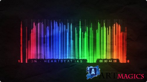 Barcode Equalizer - After Effects Template