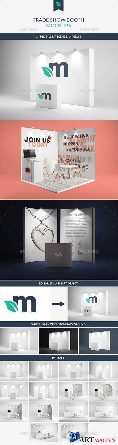 Trade Show Booth Mockups 9273909