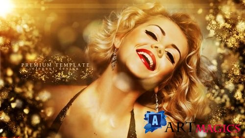 Golden Splinters - Project for After Effects (Videohive)