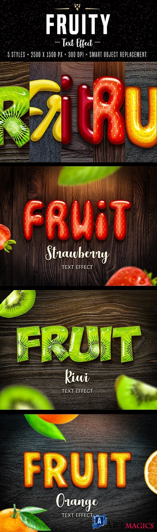 Fruit Text Effects for Photoshop 22177922