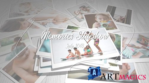 Memories Slideshow 98265 - After Effects Templates
