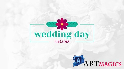 Floral Wedding Titles 84 - After Effects Templates