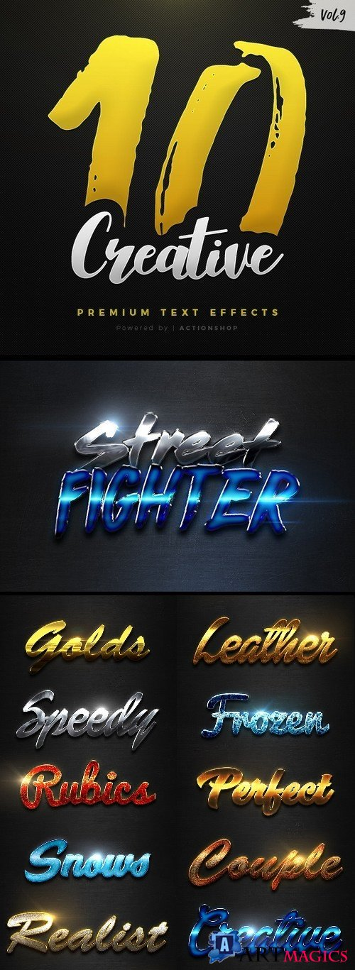 10 Creative Text Effects Vol.9 - 21108616