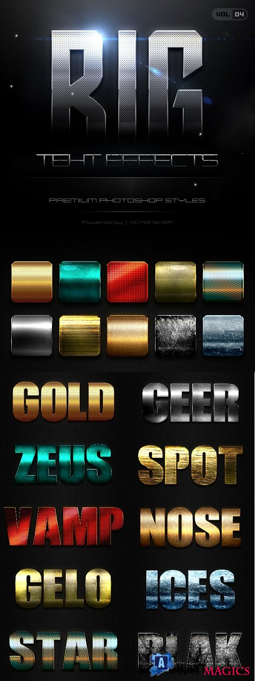 10 Bold Text Effects Vol.4 21137218