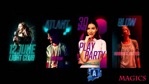 Instagram Stories Event Promo 90616 - After Effects Templates