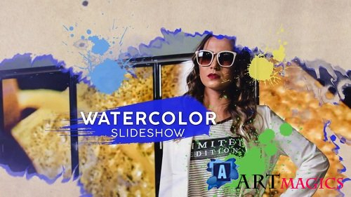 Watercolor Slideshow 108411 - After Effects Templates