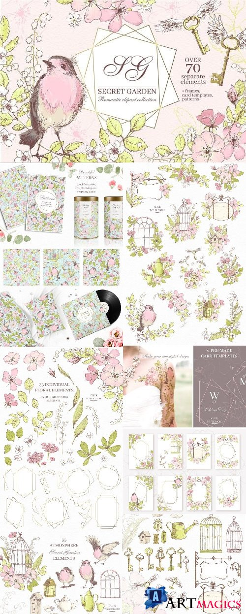 Secret Garden graphic kit - 2904588