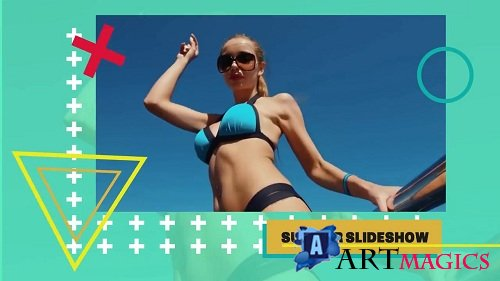 Summer Slideshow 100258 - After Effects Templates