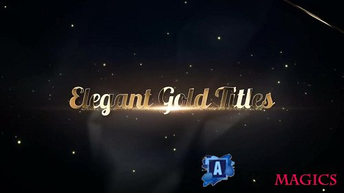 Elegant Gold Titles 5v - Premiere Pro Templates