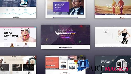 Website Promo 90914 - After Effects Templates