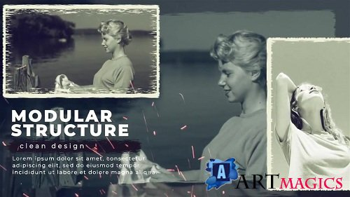History Slideshow 113850 - After Effects Templates