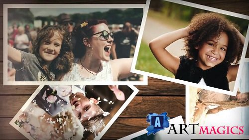 Wooden Board Slideshow 100987 - After Effects Templates