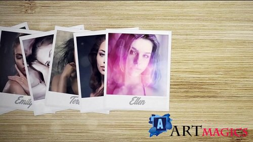 Photo on Table 4K - After Effects Templates