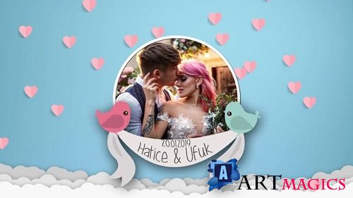 Big Love Wedding Story 095352091 - After Effects Templates