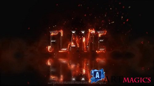 Fire Metal Logo - After Effects Templates