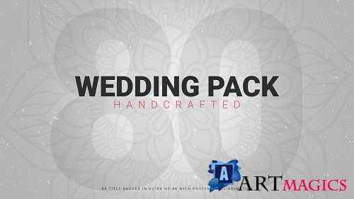 Wedding Pack 80+ Handcrafted 117156 - After Effects Templates