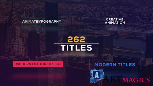 262 Title Pack Animation - After Effects Templates