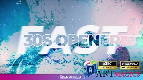 Fast 30S Opener 098186994 - After Effects Templates