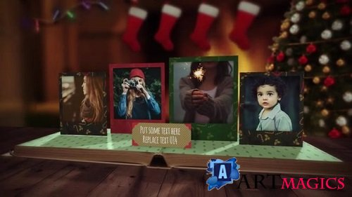 Christmas Pop up Book 098474334 - After Effects Templates
